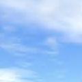 好藍的天啊