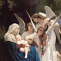 當看到天使的時候