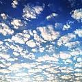 藍天朵朵雲