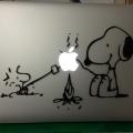 史努比愛蘋果